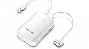 Samsung Galaxy Portable Battery : onderweg uw tablet en smartphone opladen