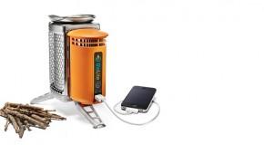 BioLite CampStove: met een vuurtje uw smartphone opladen