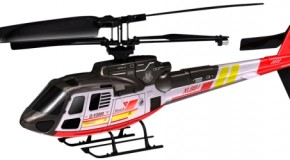Silverlit Eurocopter Ecureuil AS350: stabiele radiografisch bestuurbare helicopter