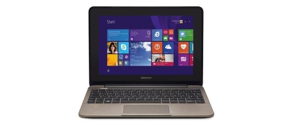 Medion Akoya E1232T (MD 99410): multitouch notebook met 10,1 inch IPS-scherm