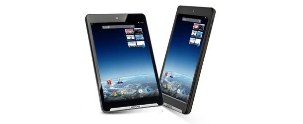 Medion Lifetab S7852(MD 98625): 7,85 inch tablet met hoogwaardige metalen behuizing